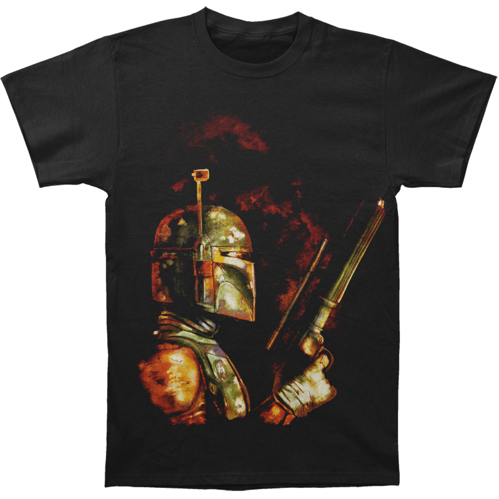 Star Wars Men's  The Bounty Hunter T-shirt Black