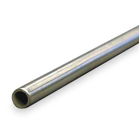 4NTA1 Tubing, 0.305 In ID, 3/8 In OD, Aluminum