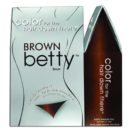 Darkest Brown Tip (Brown Betty - Color for the Hair Down There Kit)