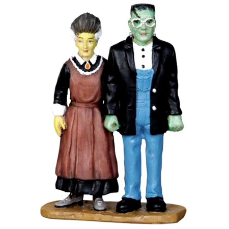 Lemax 22013 FRANKENSTEIN GOTHIC Spooky Town Figurine Retired Halloween Decor](Filme Halloween Town)