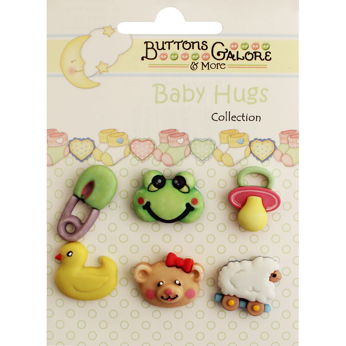 Baby Hugs Buttons-Wee Ones