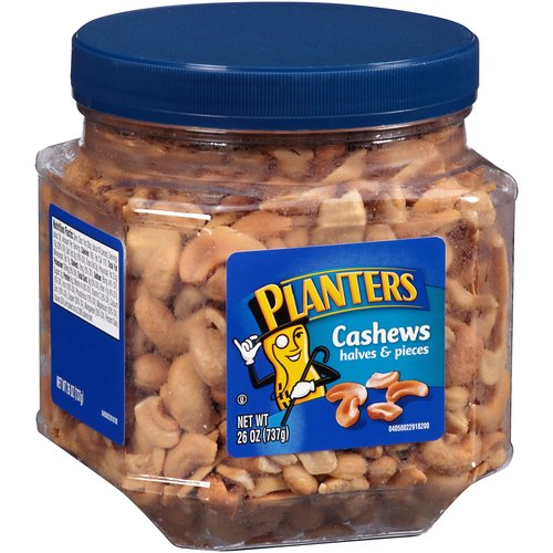 Planters Cashew Halves & Pieces, 26 oz
