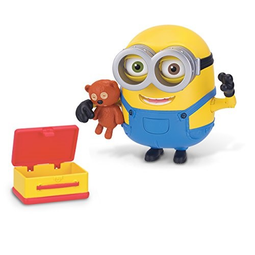 Minions Deluxe Action Figure Bob with Teddy Bear by Minions