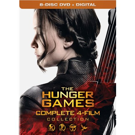 Hunger Games Woman (The Hunger Games: Complete 4-Film Collection (DVD +)