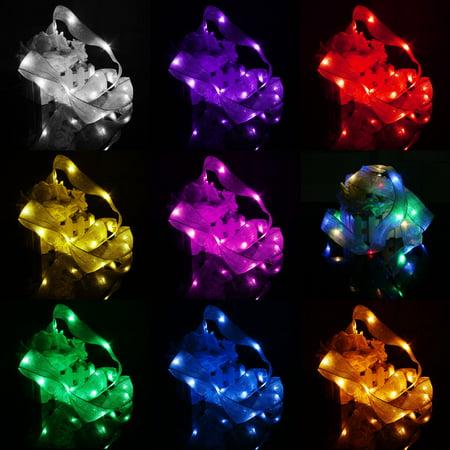 6.56ft 20 LED String Fairy Light LED Party Xmas Halloween Wedding Curtain Decoration 6V Warm White - Halloween Drape Lights
