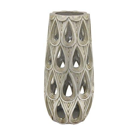 Three Hands Decorative Resin Pierced (Pierced Vase)