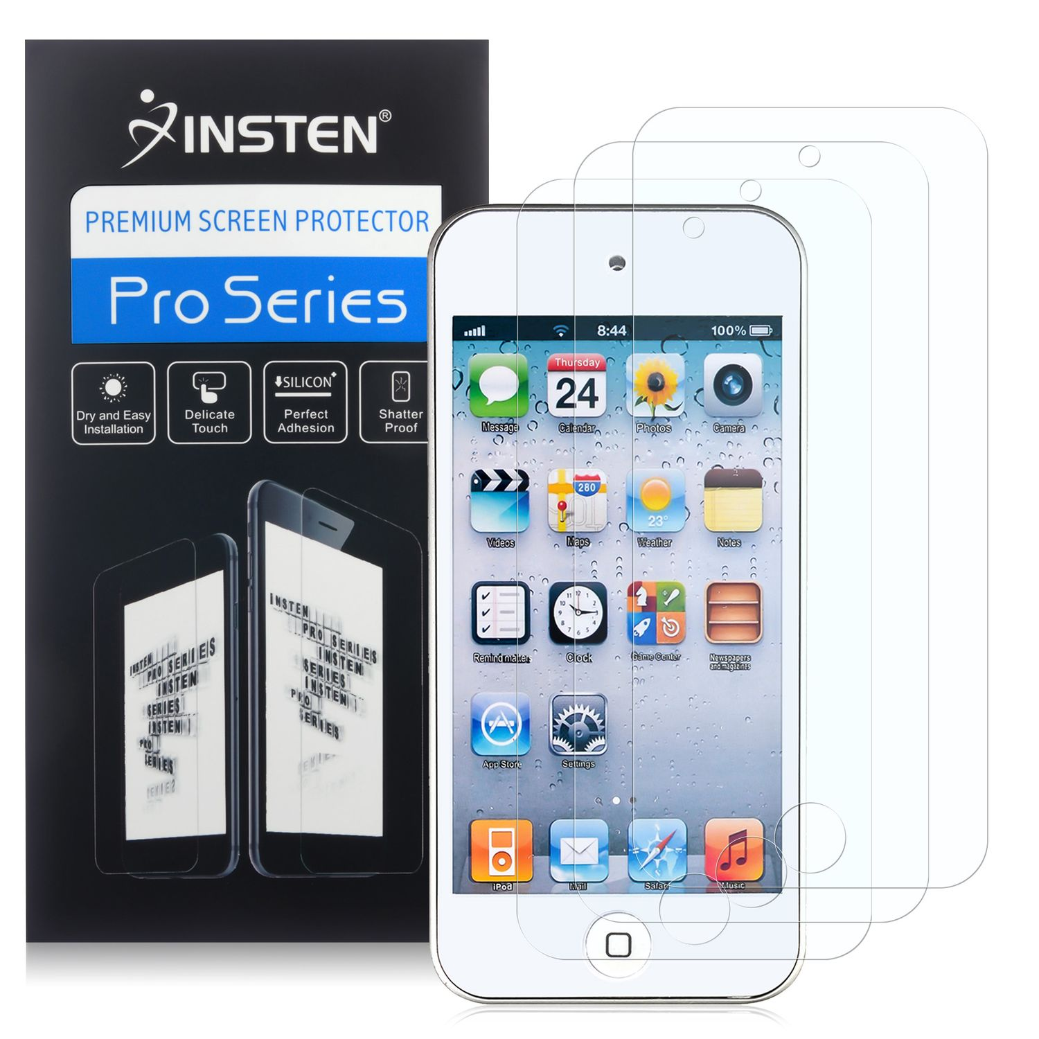 3-Pack Apple iPod touch 6th 5th Generation Anti-Glare Screen Protector by Insten