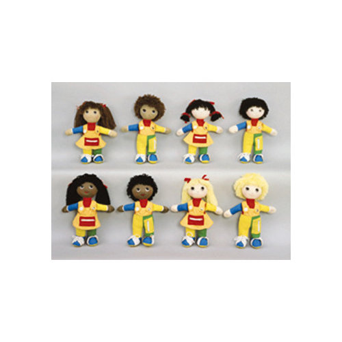 Childrens Factory Learn To Dress Doll Black Girl
