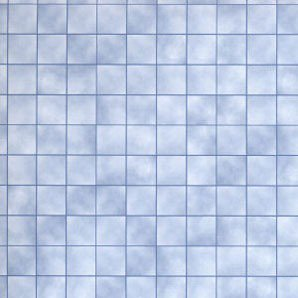 (Dollhouse 6 Pack 1/2 Scale Blue Marble Tiles)