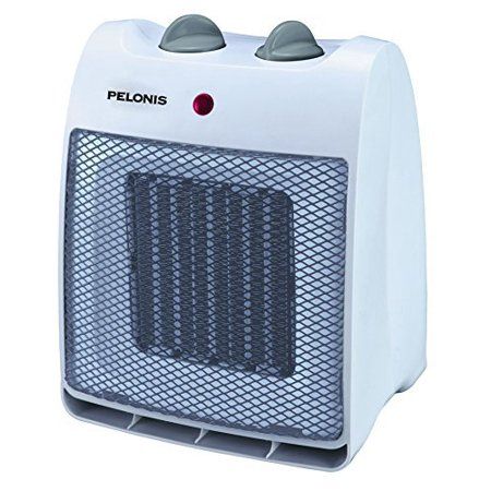 NT20-12D Ceramic Safety Furnace, 1500-watt, White by, 2 heat settings By Pelonis ()