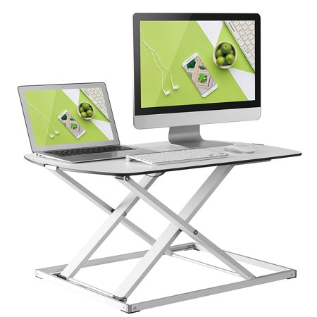 Husky Mounts Standing Desk Sturdy Light Aluminum Fully ...
