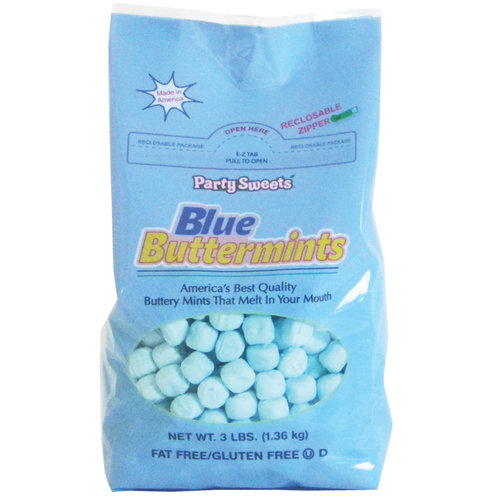 Blue Buttermints 2.75 Lbs Bulk Bag