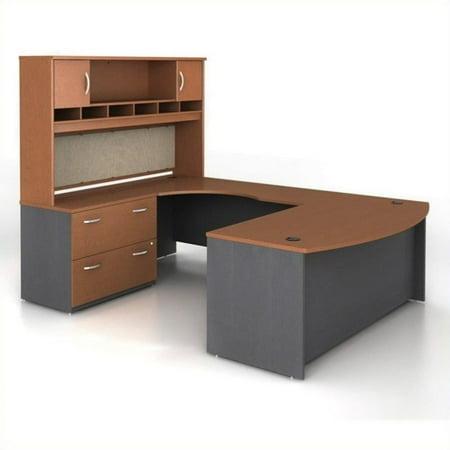 Series U-shape Computer - Bush Business Series C 4-Piece U-Shape Left-Hand Computer Desk