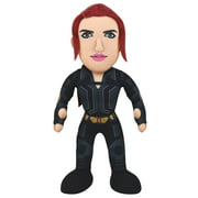 "Bleacher Creatures Marvel Black Widow 10"" Plush Figure - A Super Hero for Play or Display"