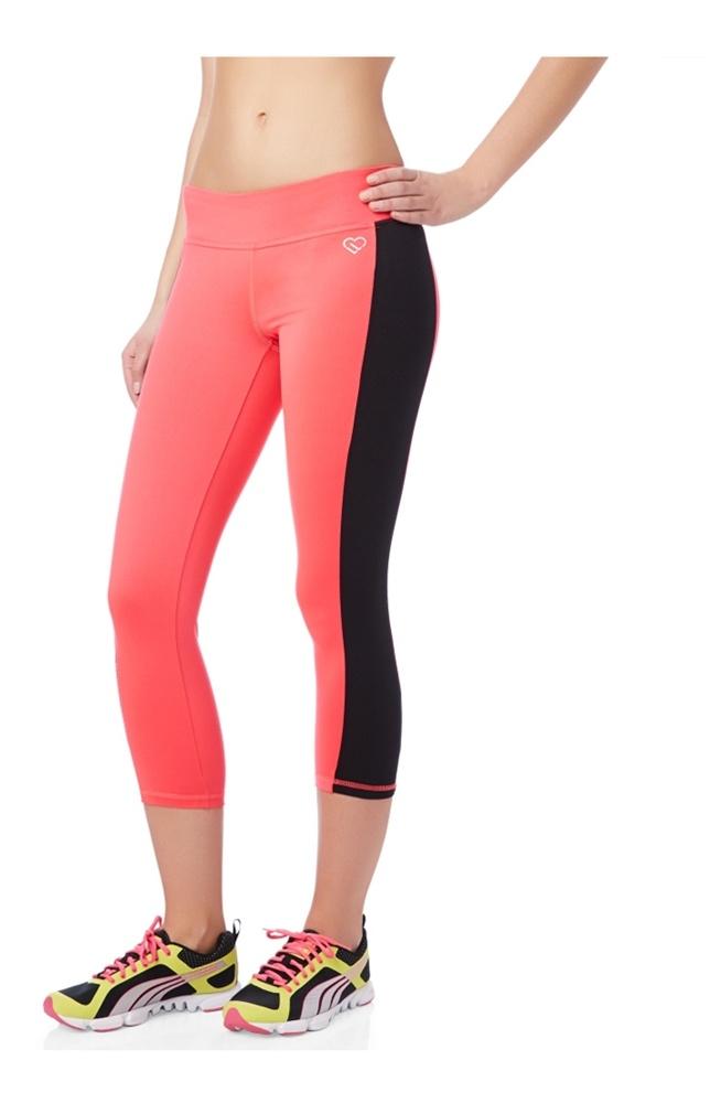 Aeropostale Womens Shimmer Crop Yoga Pants