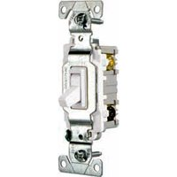 SWITCH TOGG QUIET 3WAY 15A WHT