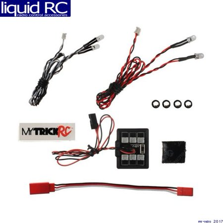My Trick RC -HB1 HB-1 Entry Level 4 LED (kit includes - 1pc 5mm WHITE DUAL 1pc 5 - Entry Level Lcd