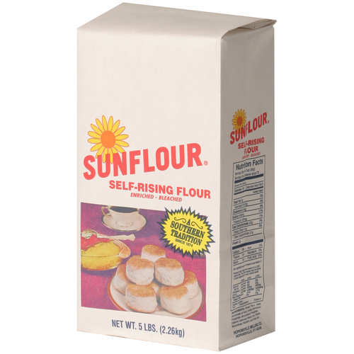 Sunflour Self-Rising Flour, 5 lbs