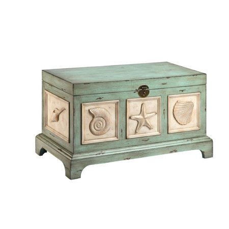 Seashell Storage Trunk - Seashell Box