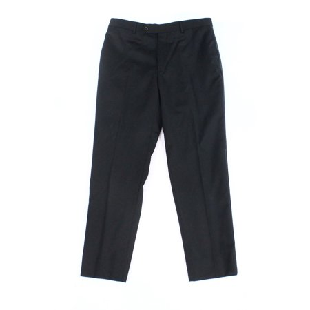 Tommy Hilfiger Mens 34x30 Dress - Flat Front Wool Pants