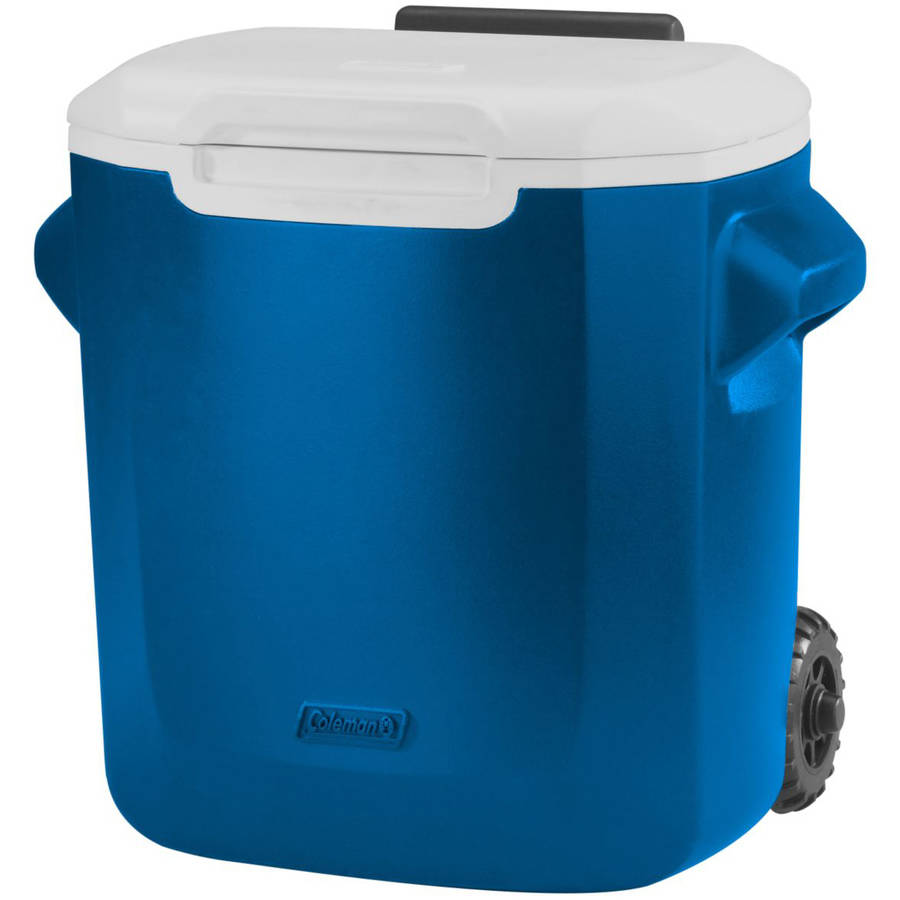 Coleman 16-Qt Personal Wheeled Cooler, Blue