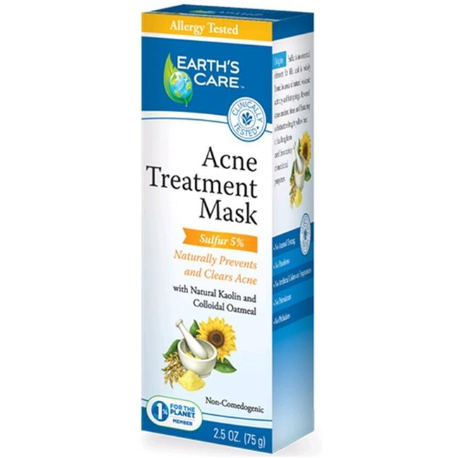 Earths Care 1216282 Acne Treatment Mask, 2.5 oz