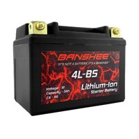 ES4LBS, Lithium Battery Replacement, Walmart Motorcycle Battery