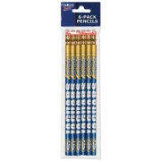 American Logo Products Southern University Jaguars Pencils, 6-Pack