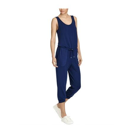 Ralph Lauren Womens Waist-Tie Jumpsuit indigo L - image 1 de 1