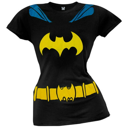 Batgirl - Logo Juniors Costume T-Shirt