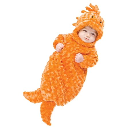 Gold Fish Infant Bunting Costume](Infant Girl Bunting)