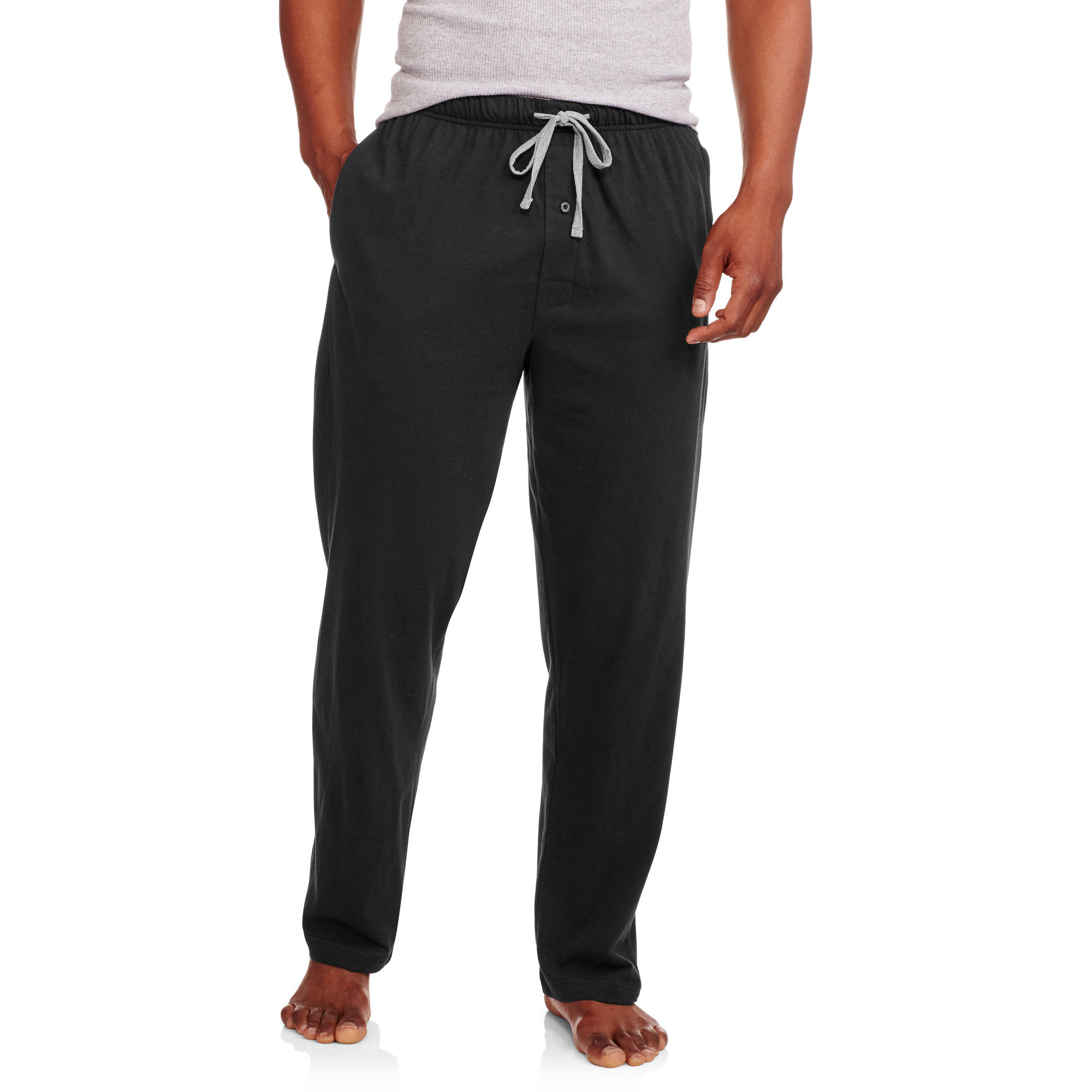 Men's Big X-Temp Solid Knit Sleep Pant with Hanes Logo Inside Elastic