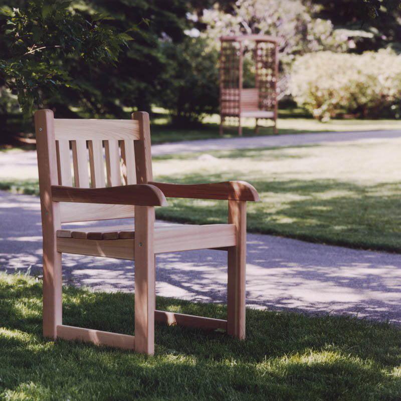 All Things Cedar Dining Armchair Western Red Cedar by All Things Cedar