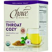 Choice Organic Teas - Organic Throat Cozy Tea - 16 Bags