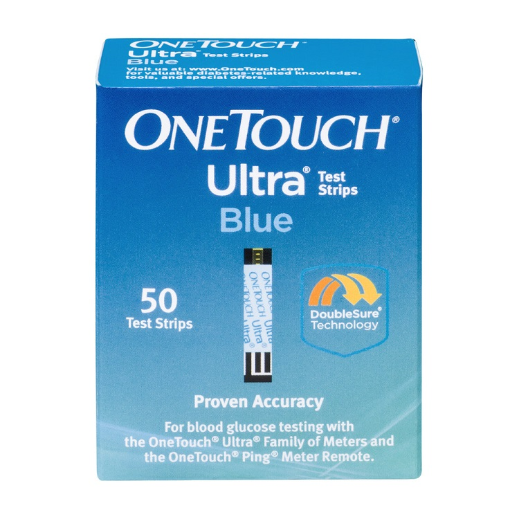 OneTouch Ultra Blue Blood Glucose Diabetic Test Strips 50 ct (Pack of 3)