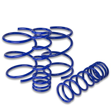 For 1995 to 1998 Nissan 240SX Suspension Lowering Springs (Blue) - Silvia S14 96 97 Nissan 240sx Lowering Springs