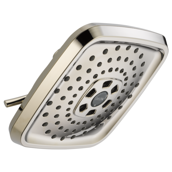 Delta: H2Okinetic 3-Setting Raincan Shower Head