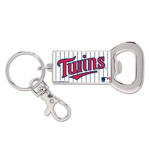 Minnesota Twins WinCraft Bottle Opener Key Ring Keychain - No Size