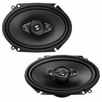 """Pioneer TS-A6880F 350 Watt 6"""" x 8"""" 2-Way Coaxial Car Audio Speaker 6x8"""" 5"""" x 7""""*"""
