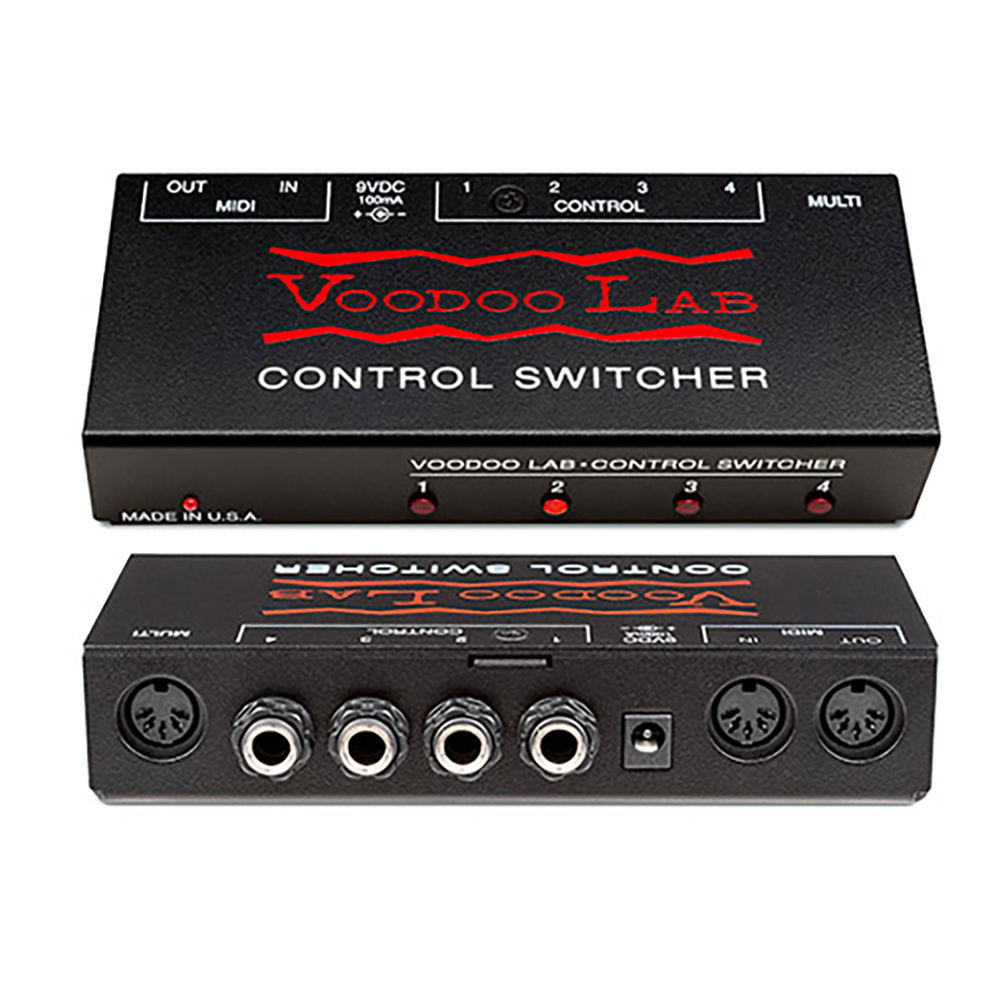 Voodoo Lab Control Switcher Guitar Footswitch by Voodoo Labs