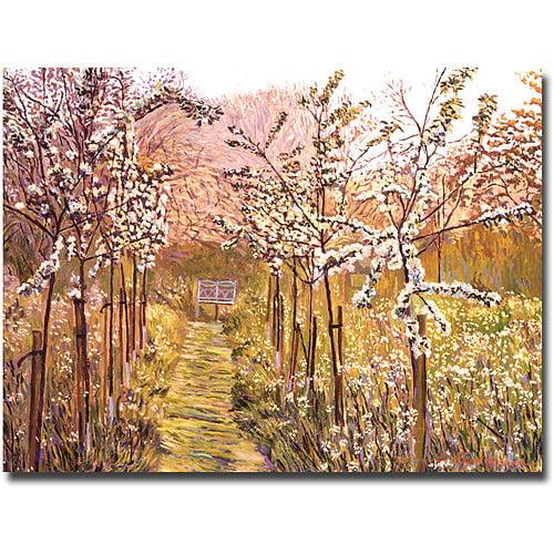 "Trademark Art ""Orchard Morning"" Canvas Wall Art by David Lloyd Glover"
