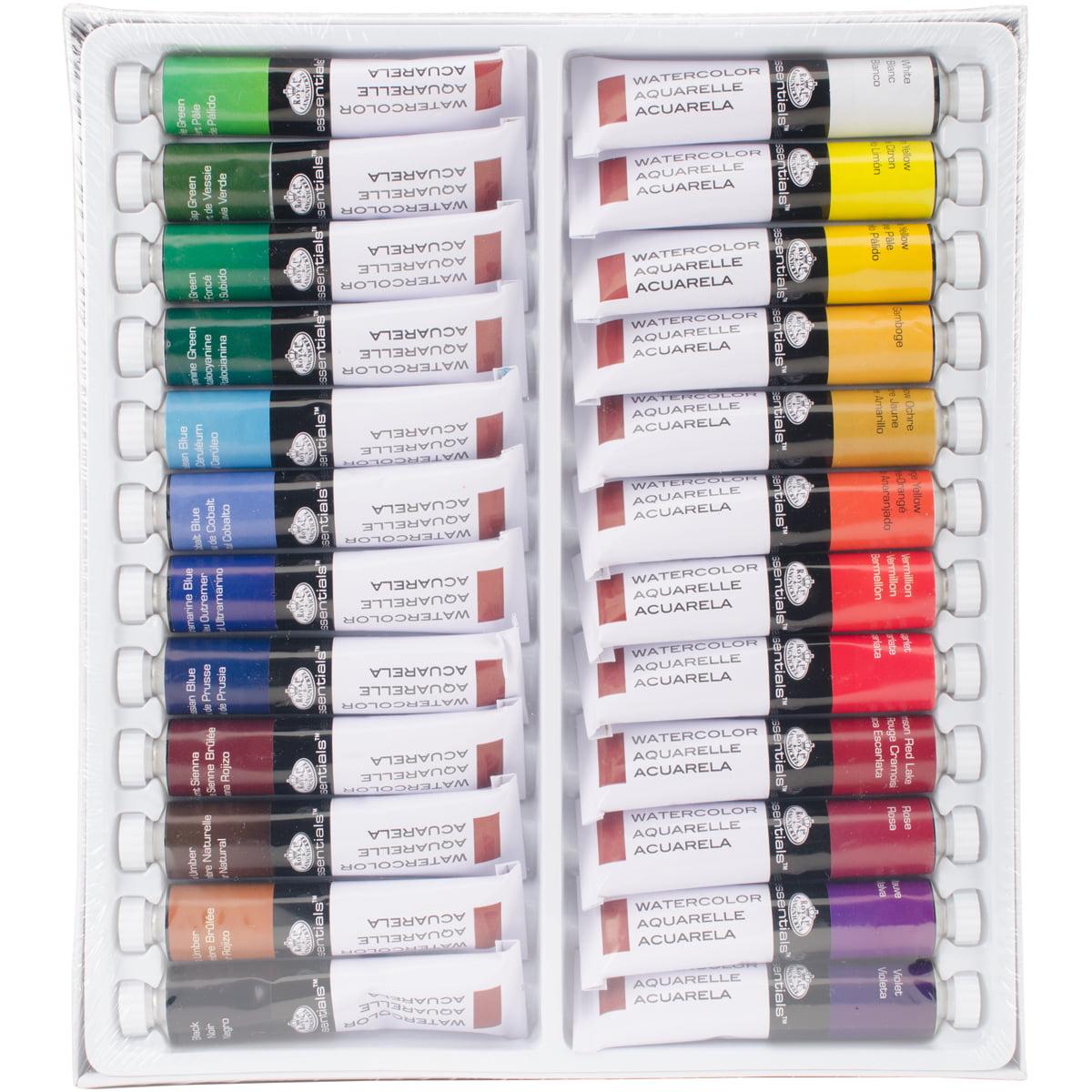 Watercolor Paints 21ml 24/Pkg-Assorted Colors