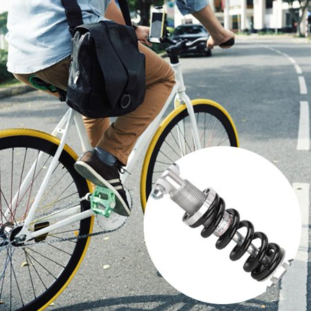 YLSHRF 1 pcs Mountain Bike Metal Rear Suspension Bumper Spring Shock Absorber Bicycle Parts, Bicycle Rear Spring Shock, Spring Shock Absorber
