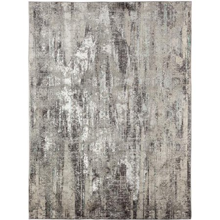 Amer Rug CAM37101010 7 ft. 10 in. x 10 ft. 10 in. Cambridge 3 Power-Loomed Area Rug - Dove Gray - image 1 de 1