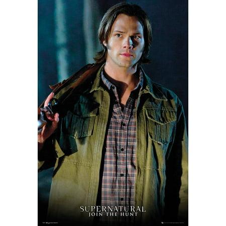 Supernatural - TV Show Poster / Print (Sam Winchester - Jared Padalecki - Shotgun) (Size: 24