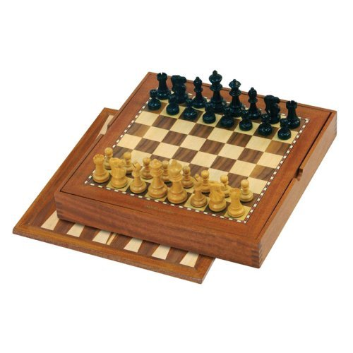 Jaques Chess and Backgammon Set