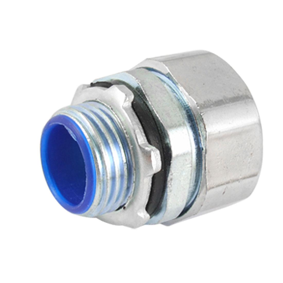 Unique Bargains 20mm Thread to 14mm Flexible Conduit Quick Coupling