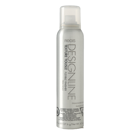 Texture Tousle Flexible Finisher, 4.5 oz - DESIGNLINE - Heat Styling Protectant, Hair Spray that Helps Hold Hair in Place and Create a Full and Tousled