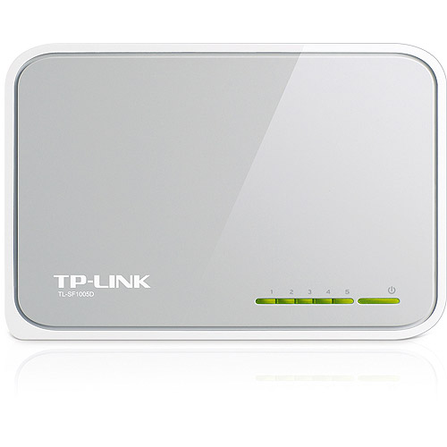 Click here to buy TP-LINK TL-SF1005D 5-Port 10 100M Unmanaged Desktop Switch by TP-LINK.