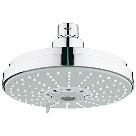 Grohe 27135000 Rainshower Shower Head In Starlight (Grohe Chrome Shower)